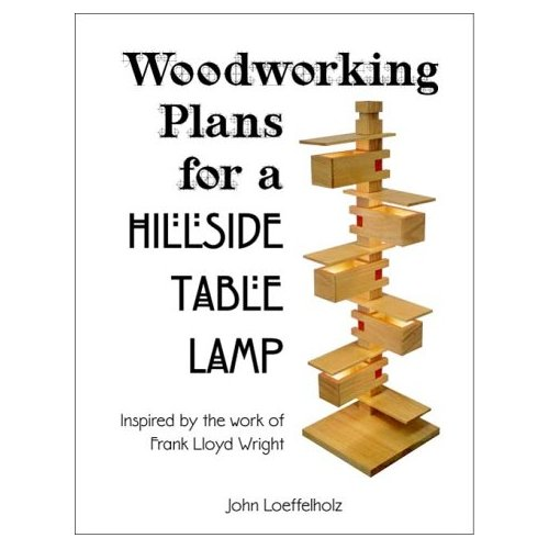 Woodworking Plans for a Hillside Table Lamp – Randall Price